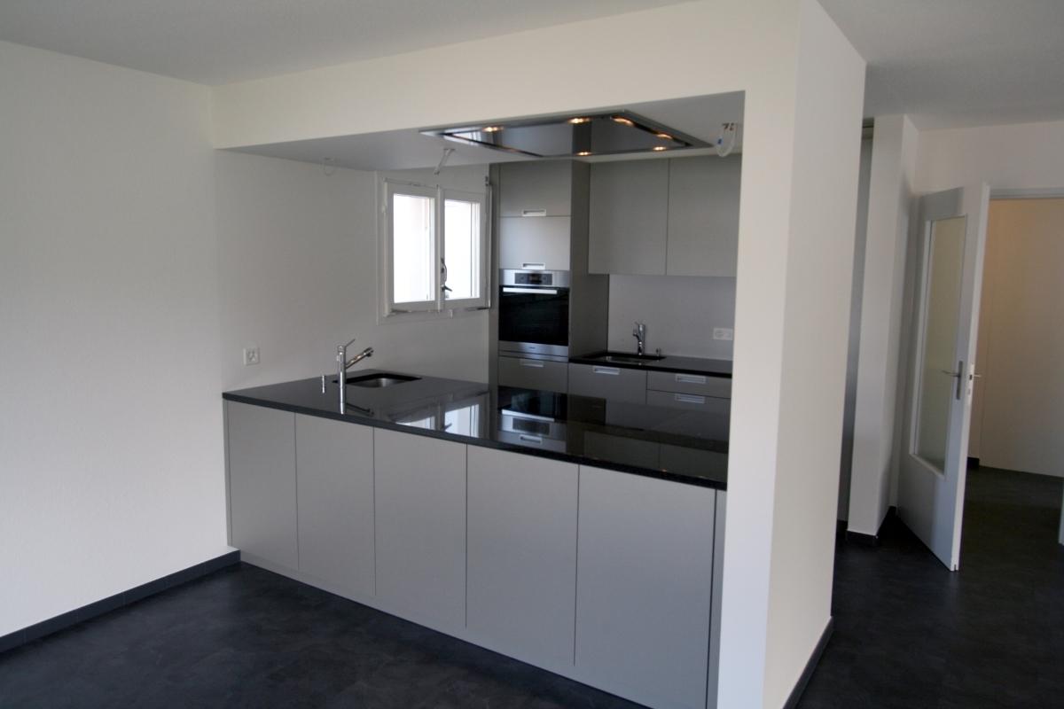 Küche mit Deckenlüfter: Misura